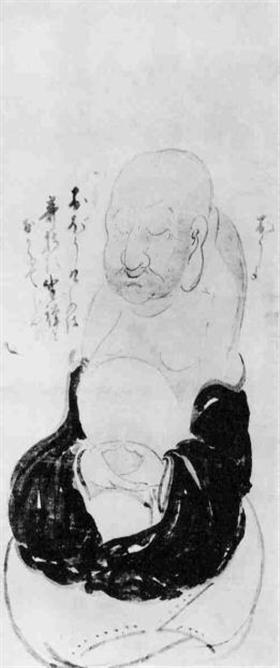 Zen meester Hakuin, zazen (zitmeditatie)